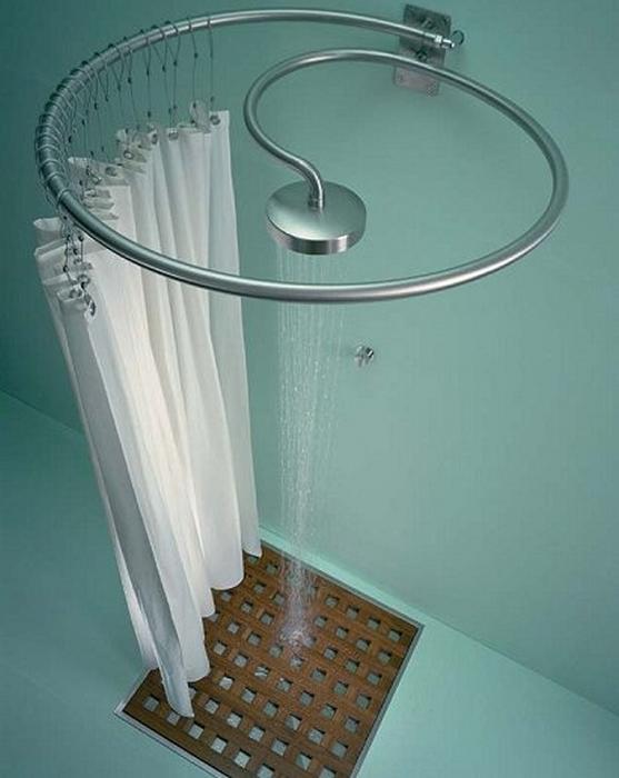 Rancati nautica seatextile tenda doccia stoffa per - Box doccia con tenda ...